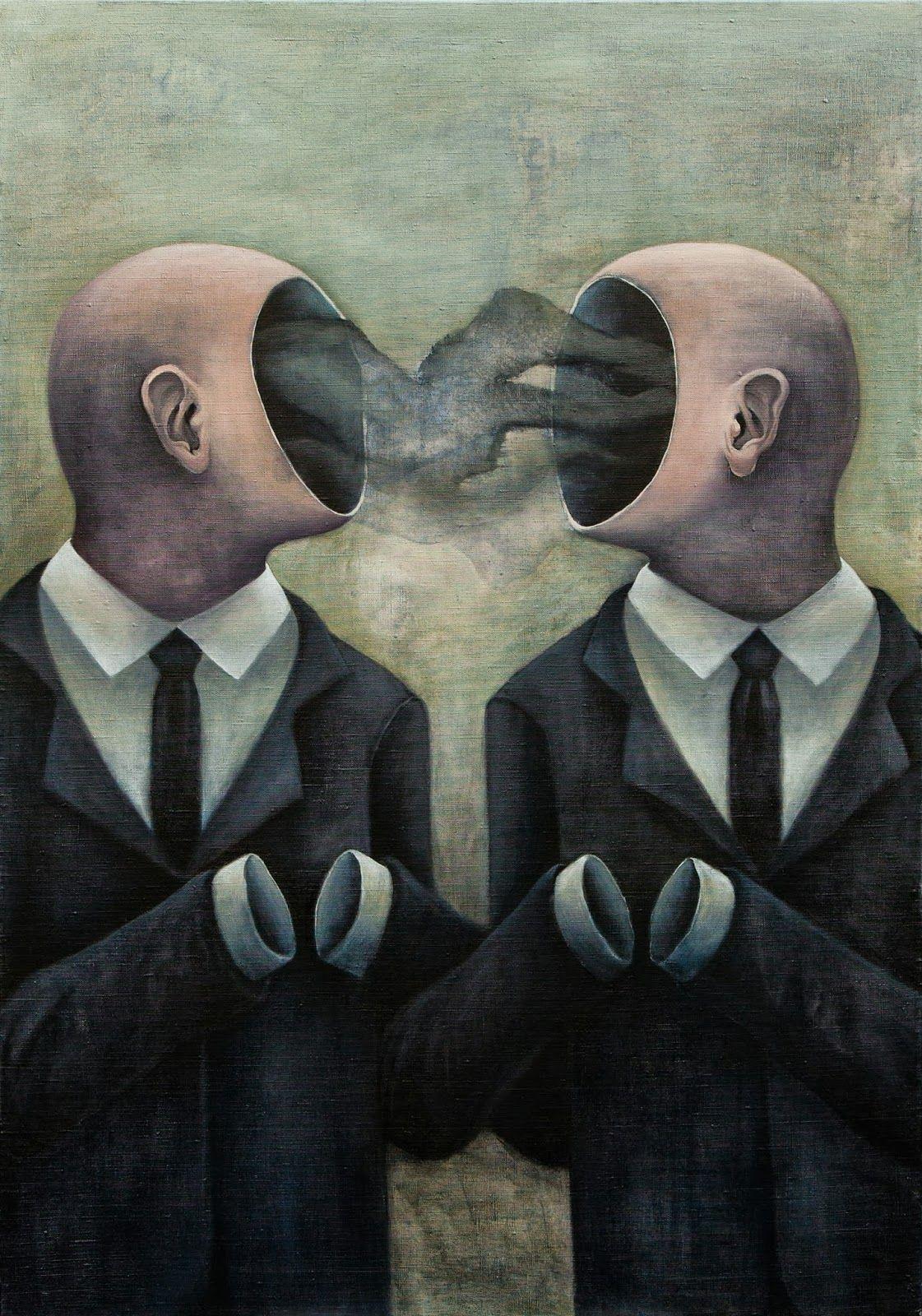 N A D J A J O V A N O V I C Surealism Art Surreal Art Painting Surrealism Painting