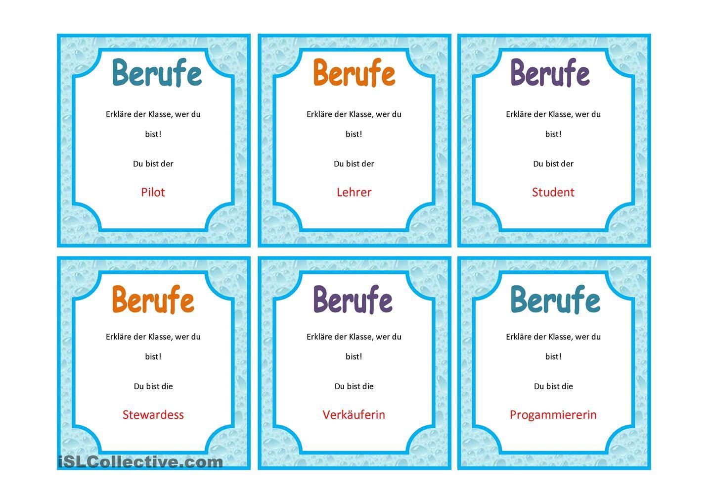 Karten Mit Sprechaufgaben 1 6