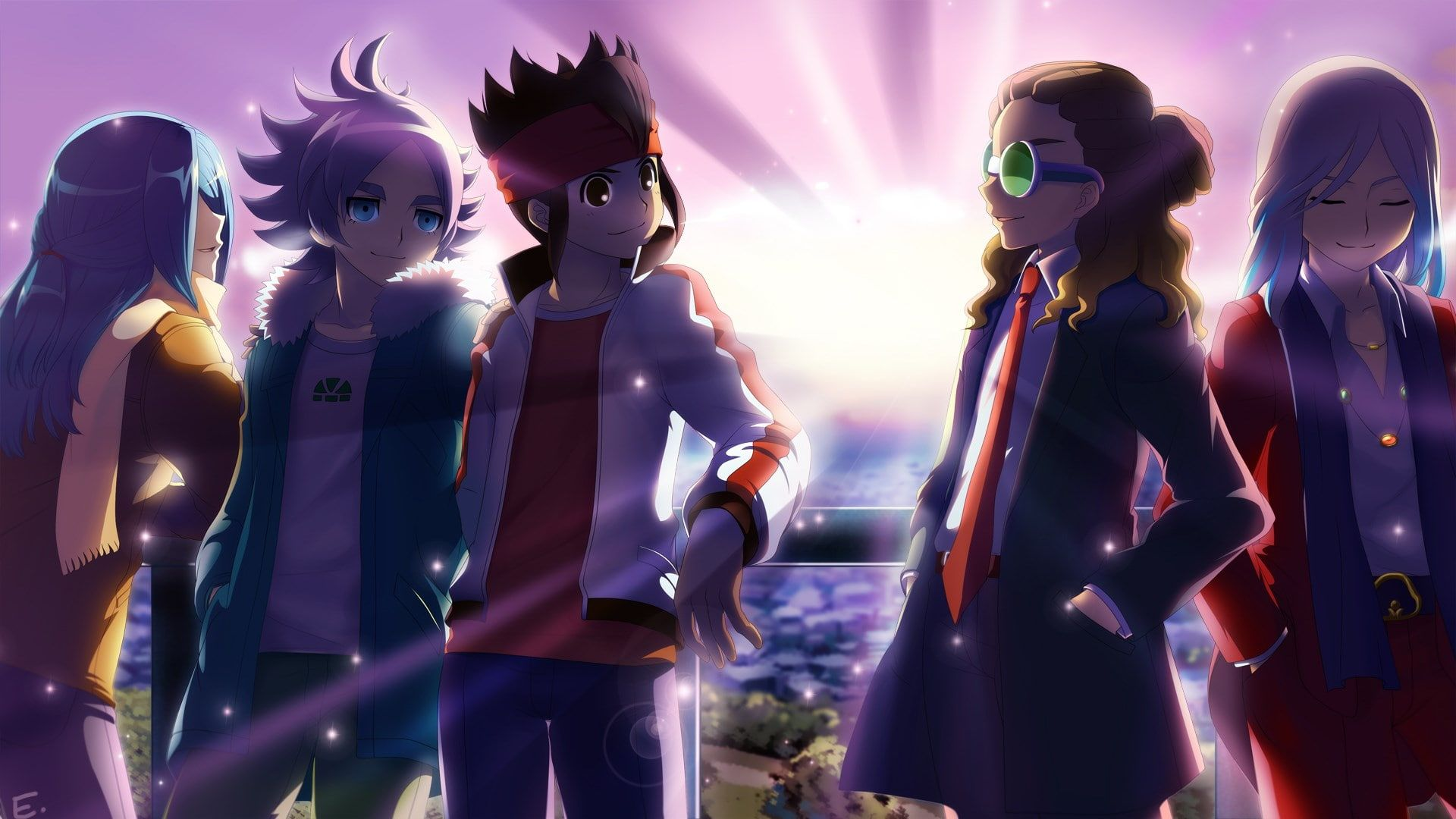 Inazuma Eleven 1080p Wallpaper Hdwallpaper Desktop Anime Anime Wallpaper Hd Wallpaper