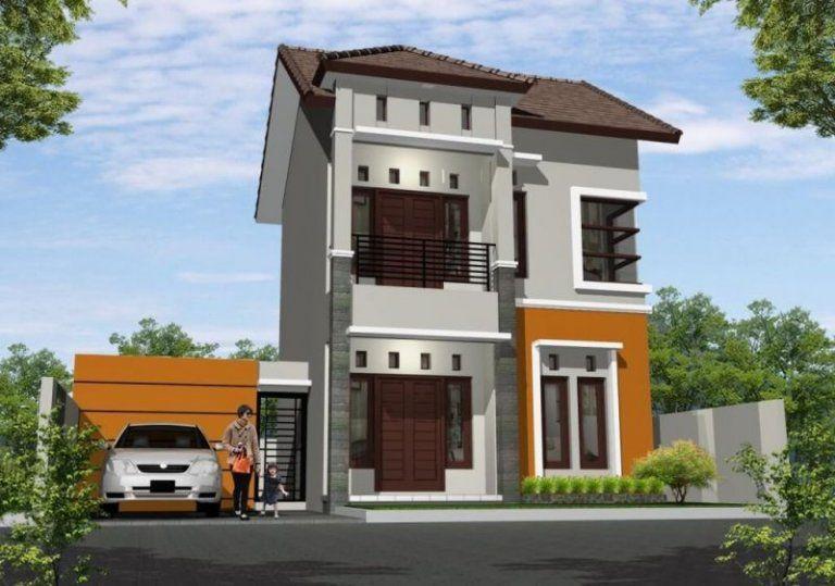 Rumah Minimalis Sumbercenel Desain Rumah Eksterior Rumah Minimalis Desain Rumah 2 Lantai