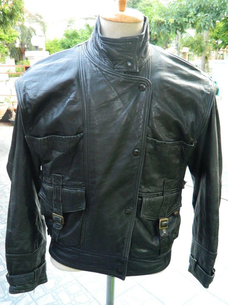 Hein Gericke Cruiser Biker Jacket XL at Retropolis
