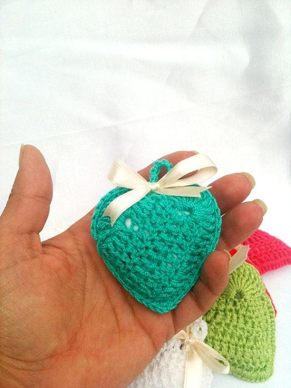Crochet Heart with Lavender  Lavender Sachet by ArtofAccessory, $10.00
