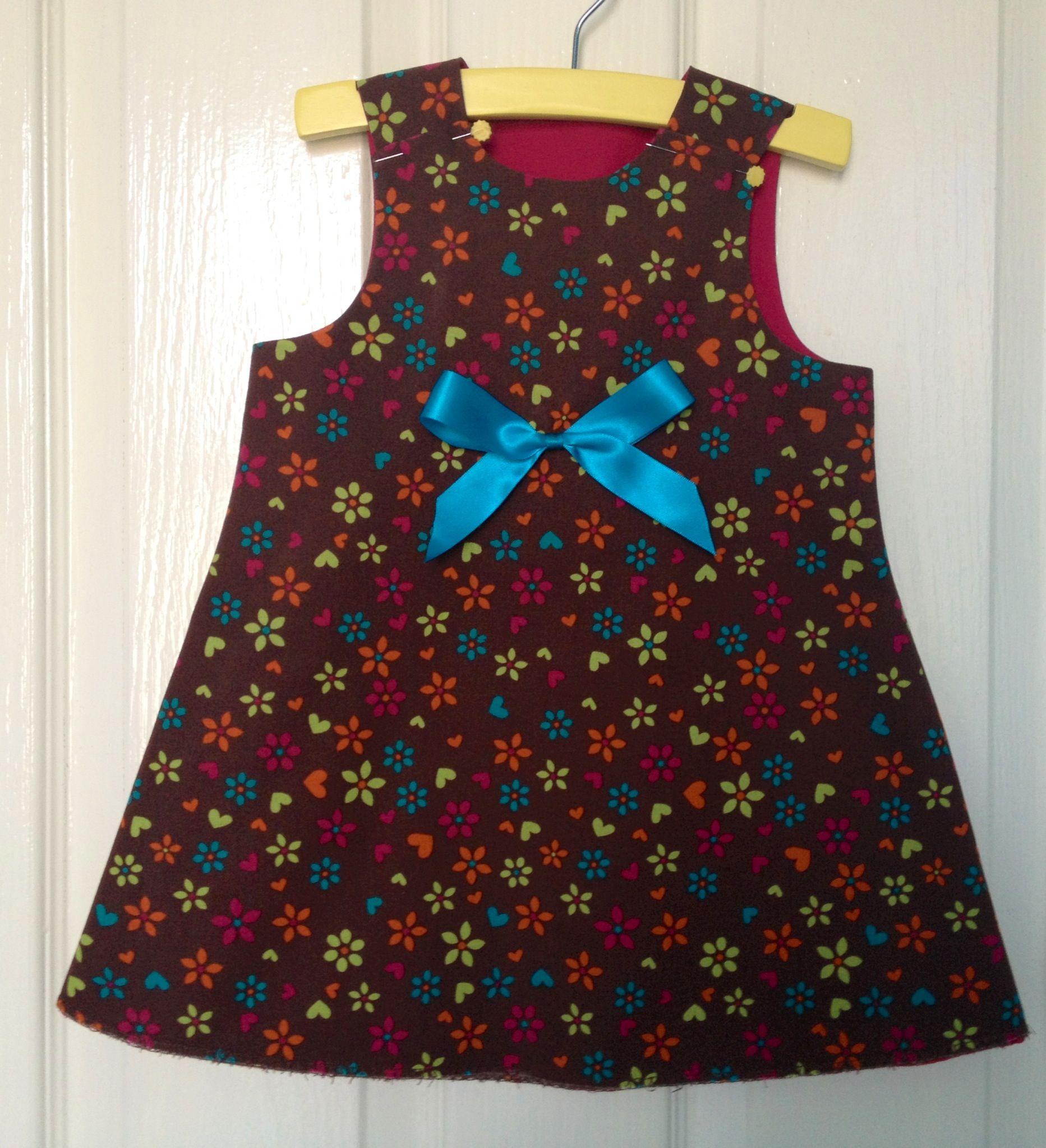 Stylish baby pinafore dress
