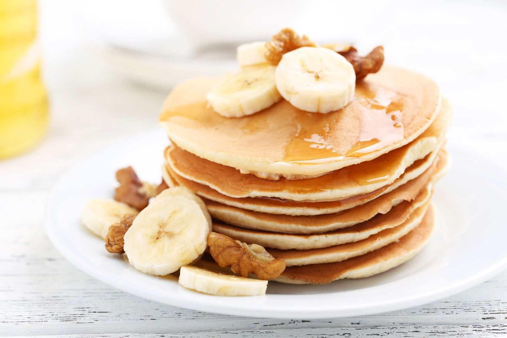 Deilige og sunne proteinpannekaker til frokost? (Treningsfrue)