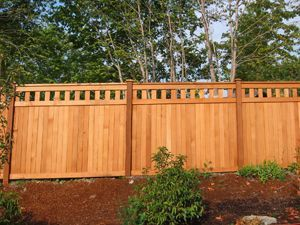 Fence Design Plans Free | ... Fence | Cedar Alta Top Fence Designs |  Greater Puget Sound Free