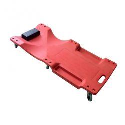 Camilla plástico roja