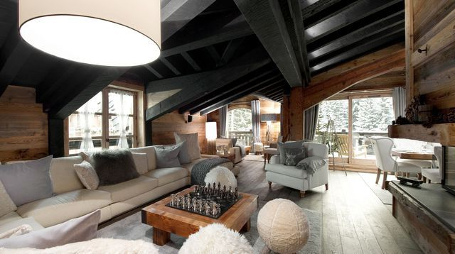 Beautiful Decoration Interieur Chalet Ideas - Design Trends 2017 ...