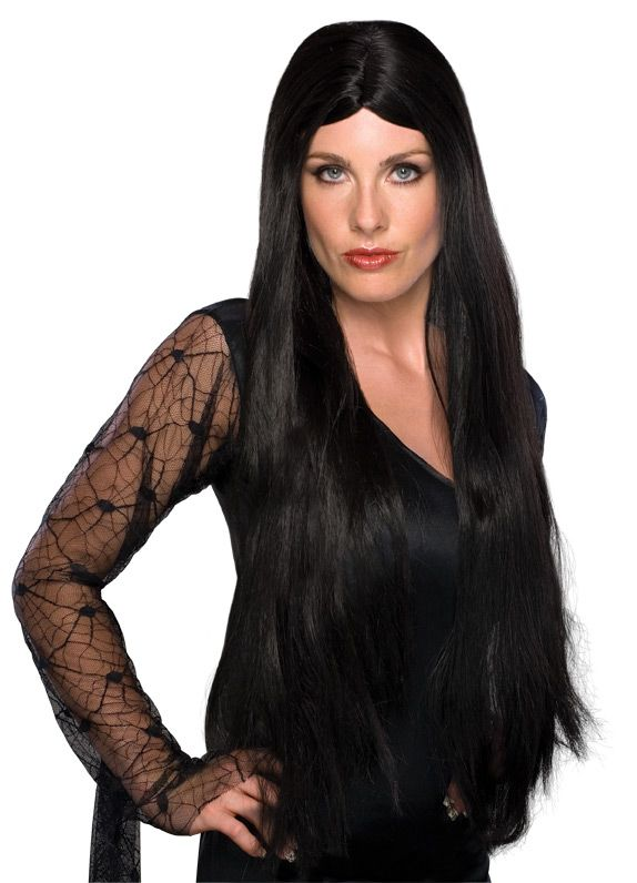 28in Witch Wig By Rubie S Costume Co Long Black Wig Black Wig Cher Wig