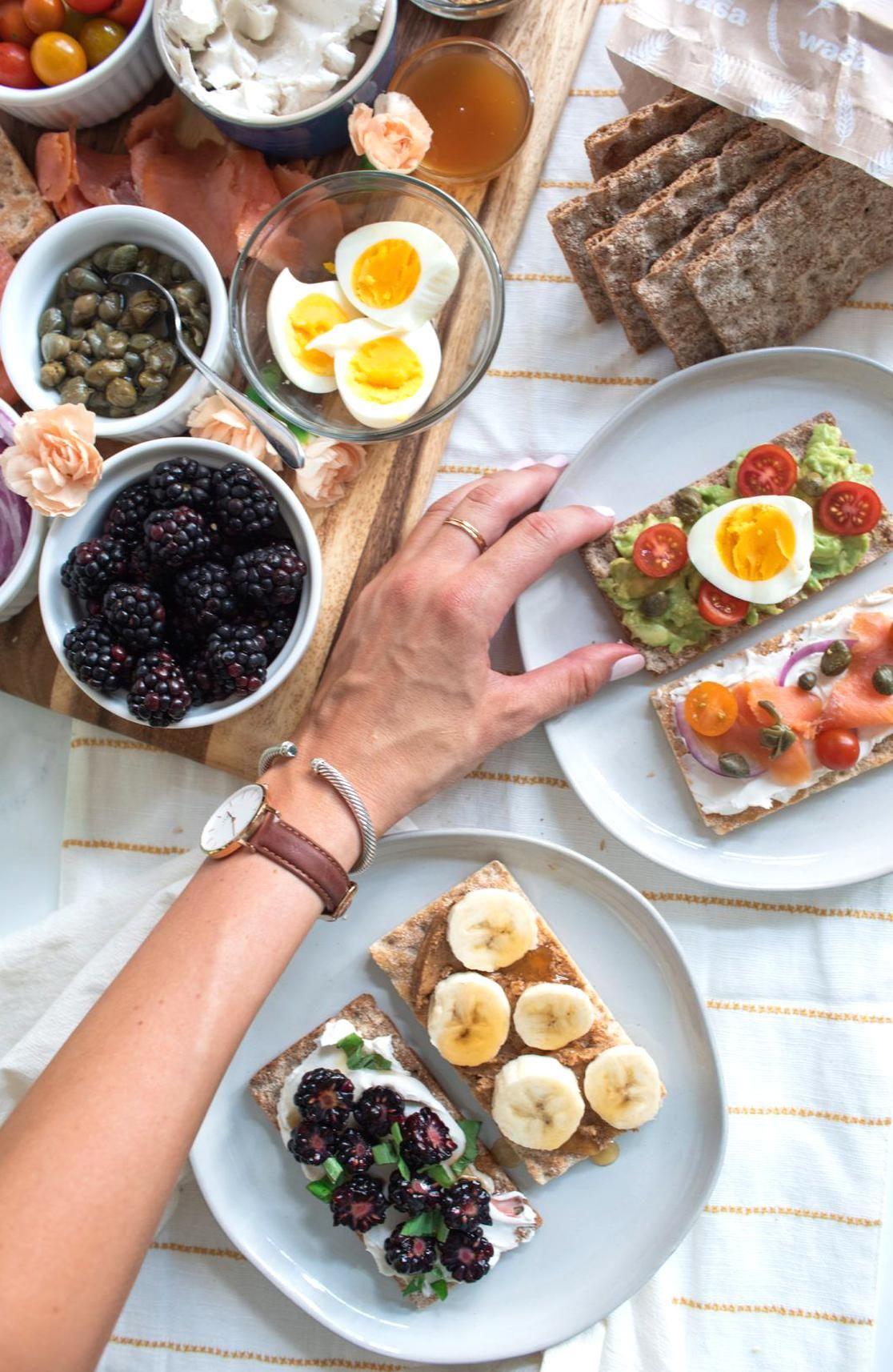 How To Make A Brunch Buffet Board In 2020 Health Food Breakfast Healthy Lifestyle Food Breakfast Picnic
