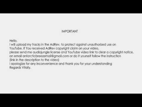 Clear Adrev Copyright Notice Important HttpsWwwYoutubeCom