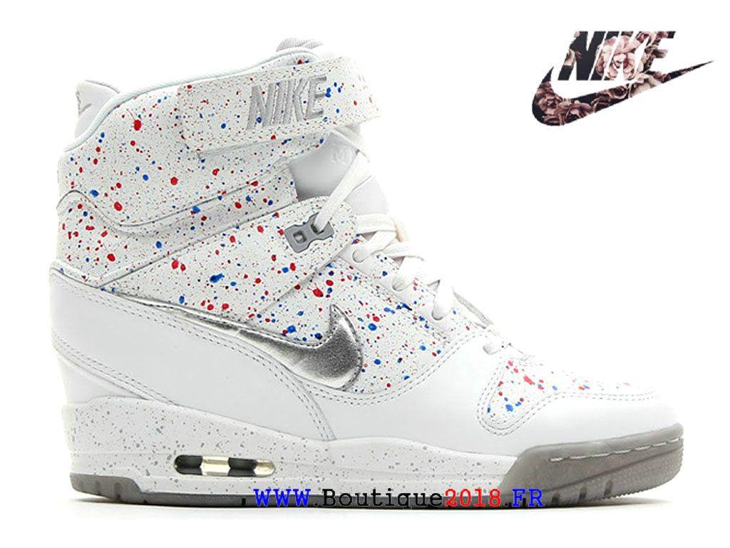info for b8f9d 78e33 Chaussures compensées Nike Air Revolution Sky Salut Liberty QS pour femmes  Armory Navy   Vachetta Tan