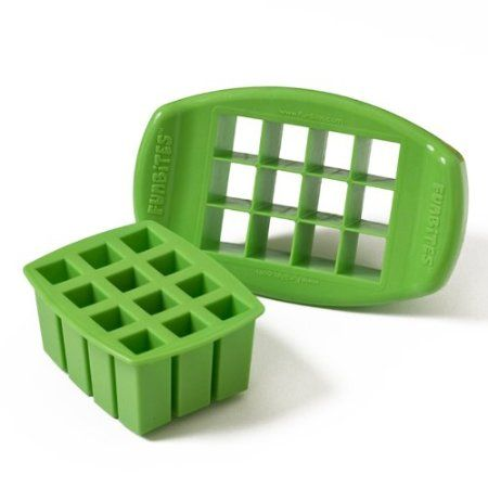 Amazon.com: FunBites Squares - Cuts kids' food into fun-shaped bite-sized pieces . . . Great for picky eaters!: Kitchen & Dining