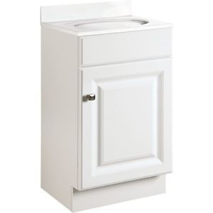 Bathroom Vanity Cabinet White Thermofoil Wide X Deep New