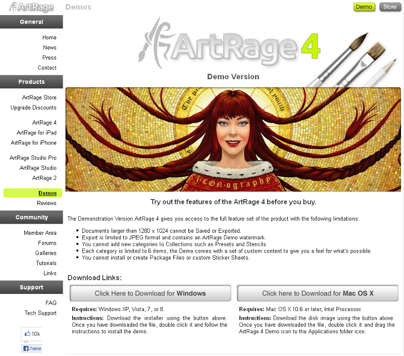 Demos Artrage Artrage Demo Paint Software