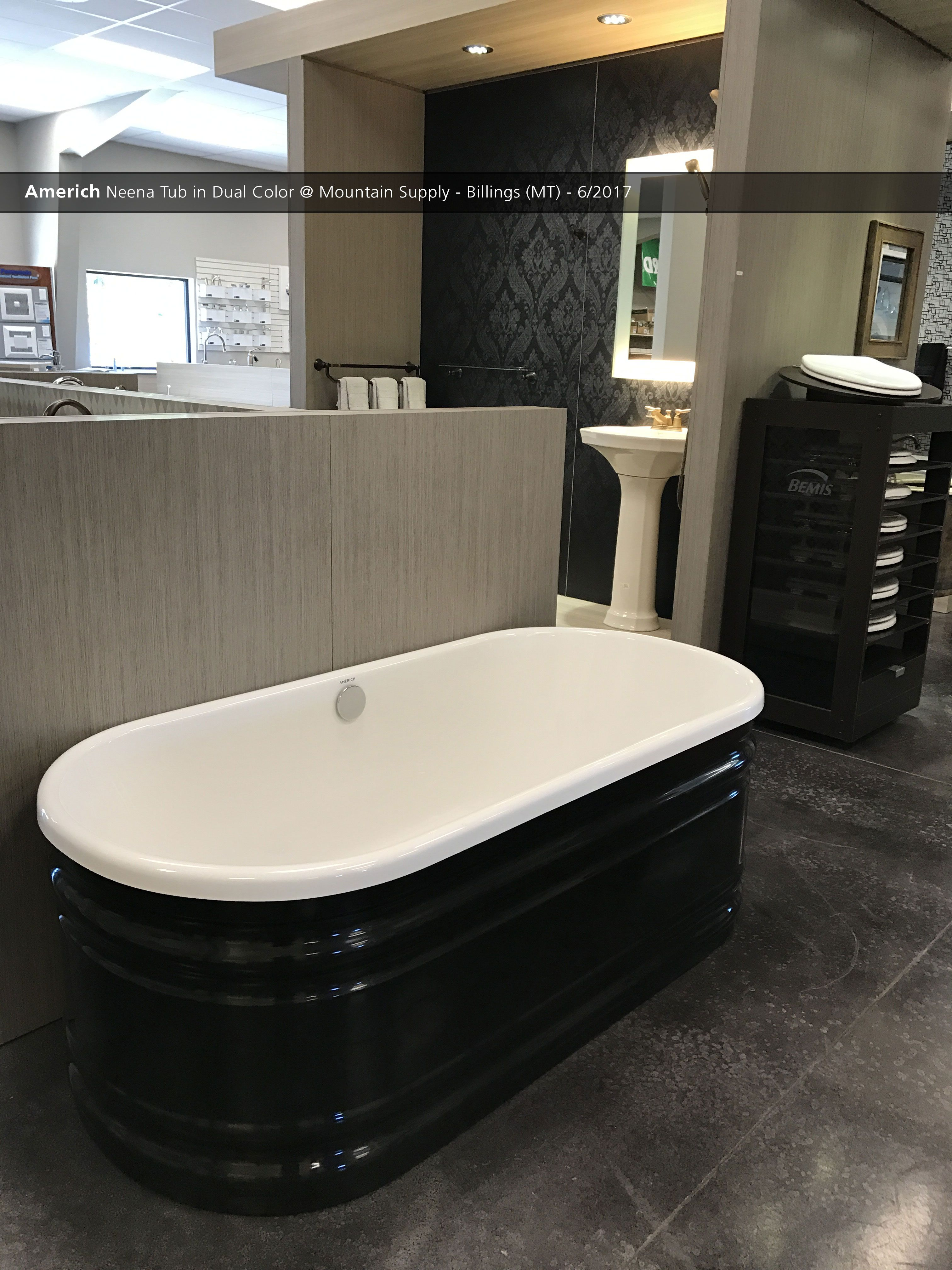 Americh Neena Tub in Dual Color @ Mountain Supply - Billings (MT ...