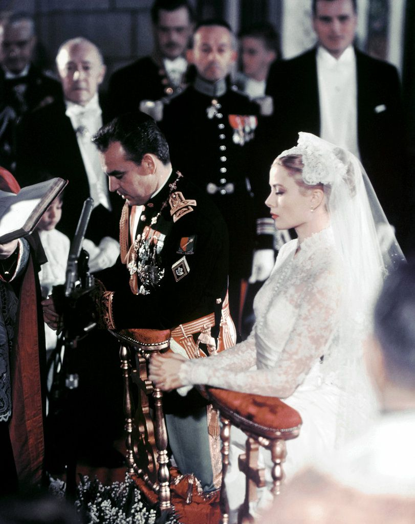 Prince Rainier III and Grace Kelly's marriage.