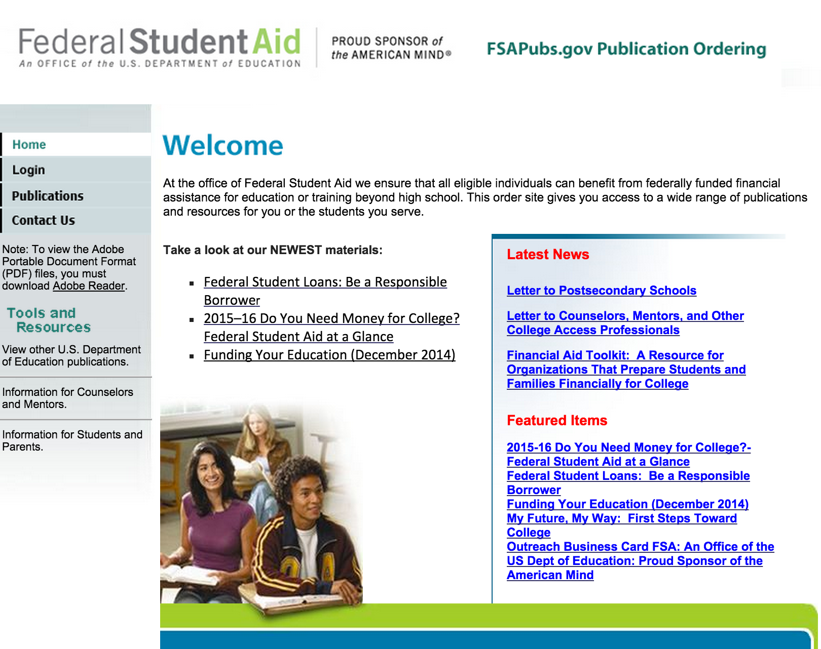 Schools May Order Bulk Quantities Of The Fafsa On The Web