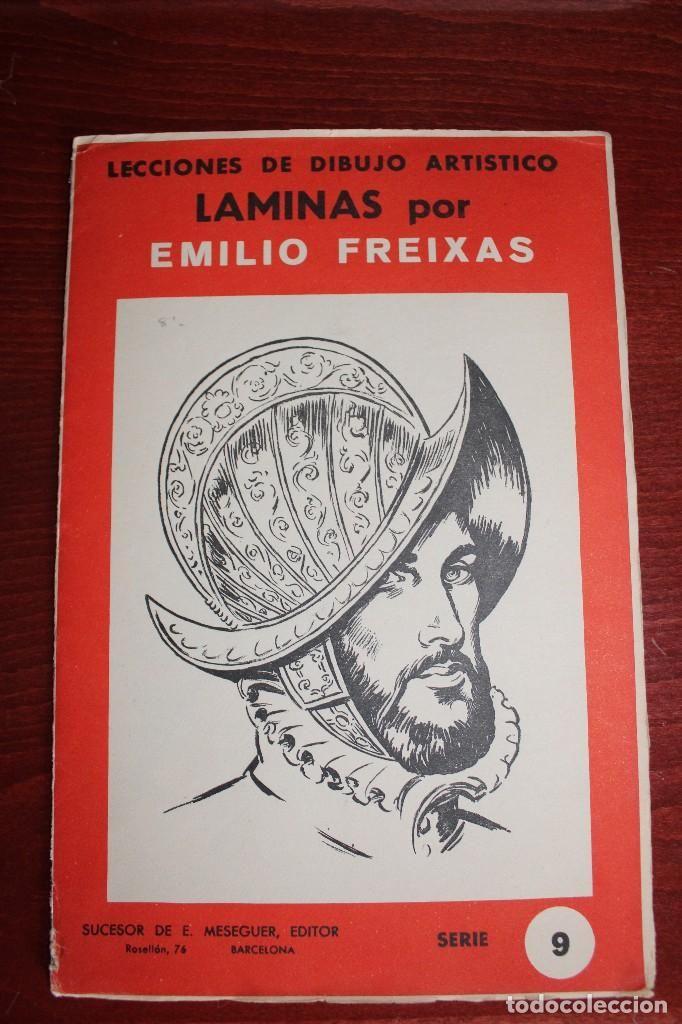 Laminas de dibujo artistico emilio freixas serie 9 libros antiguos pinterest - Laminas de dibujo artistico ...