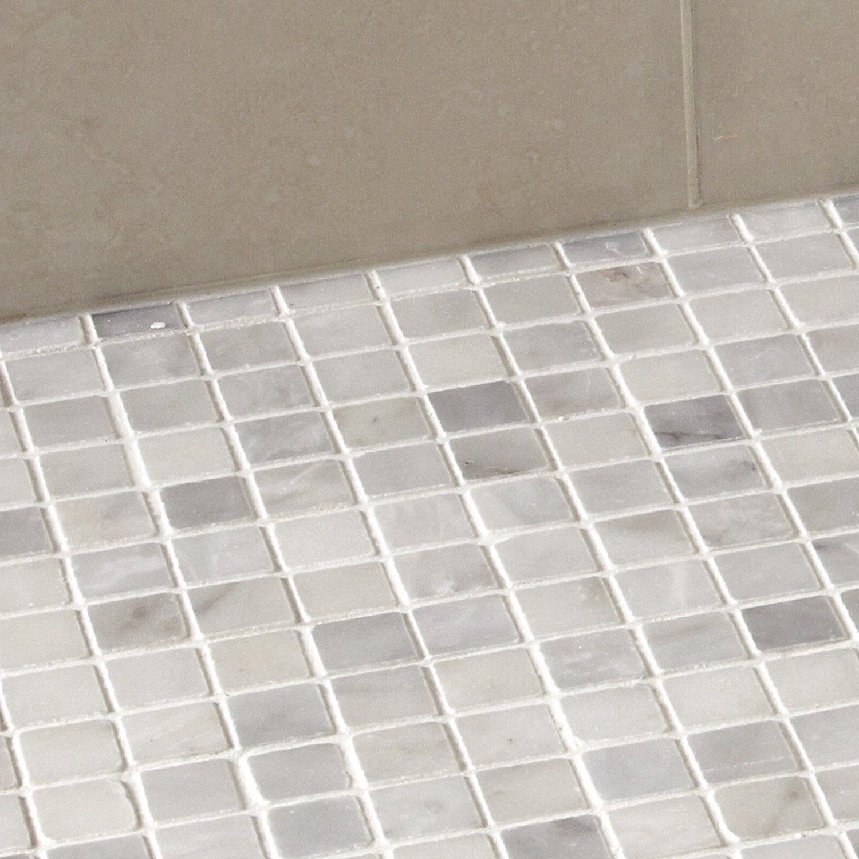 Mosaique Mineral Marbre Artens Blanc 2 3x2 3 Cm Sol Et Mur Marbre Blanc Marbre