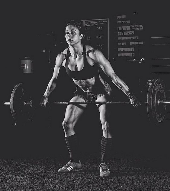 Girls Who Do Crossfit : Photo
