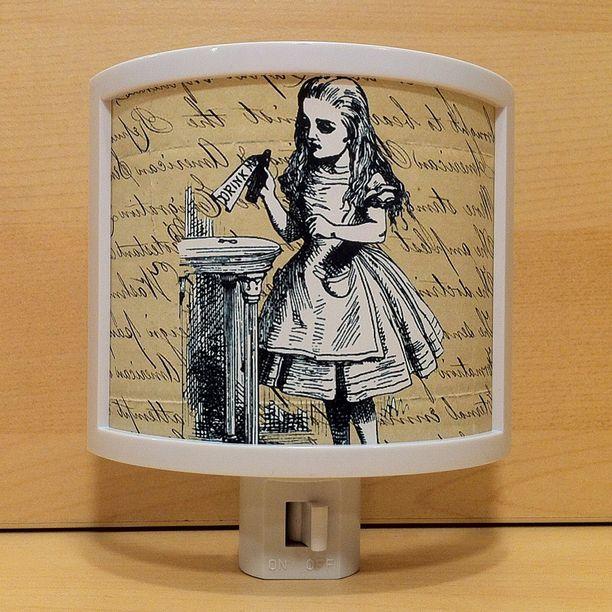 Alice in Wonderland nightlight