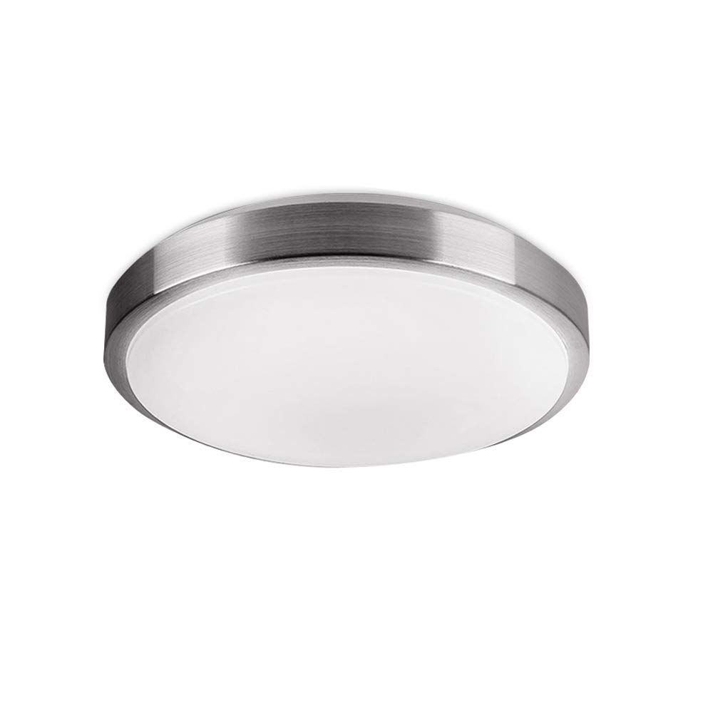 Afsemos Flush Mount Led Ceiling Light 18w 100w Incandescent Equivalent 9 Cool White 6000k Ceiling Round Led L In 2020 Led Ceiling Lights Led Ceiling Ceiling Lights