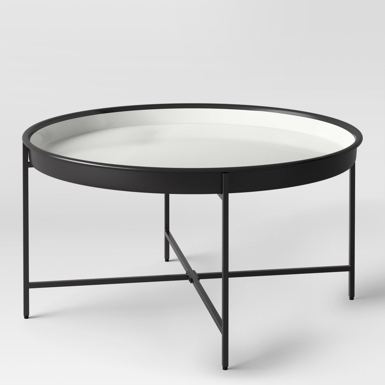 Pradet Tray Coffee Table Black White Project 62 Coffee Table