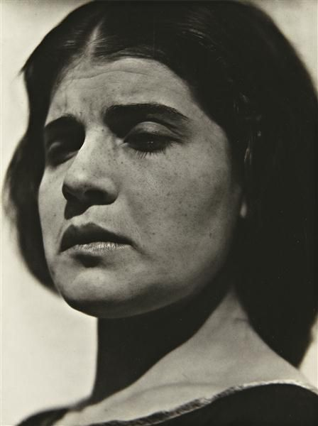 EDWARD WESTON - Tina with tear