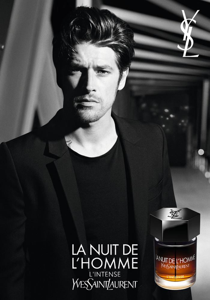 Saint En L'homme LaurentAdvertising La De Nuit L'intenseyves q43Rj5AL