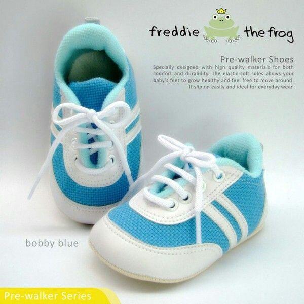 Sepatu Freddie The Frog Bobby Blue 90ribu Ukuran Sol No 3 11 Cm Untuk Umur Sekitar 0 6 Bulan No 4 11 5 Cm Sekitar 6 9bulan Sepatu Anak Bobby