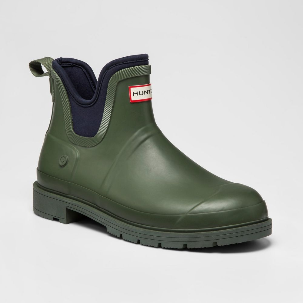 c6e3afe9f8b HUNTER Boots For Target Ankle Chelsea Rubber Rain Waterproof Mens 11 ...