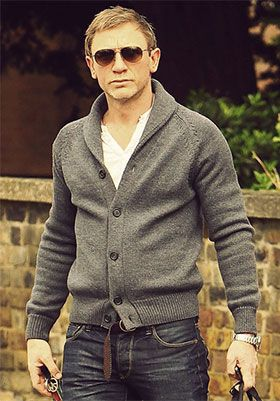 How to wear a Cardigan The Idle Man 60