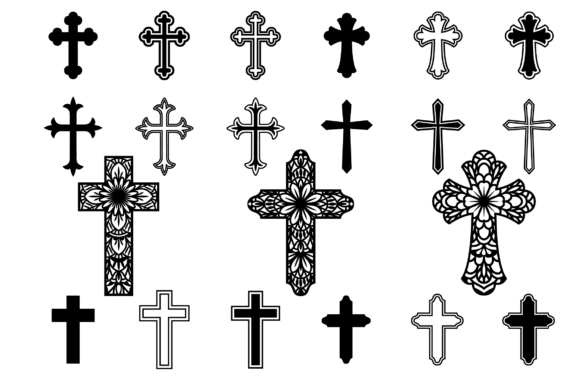 Cross Svg Crosses Clipart Christian Svg Files Graphic By Yulnniya Creative Fabrica In 2020 Cross Svg Christian Svg Files Christian Svg