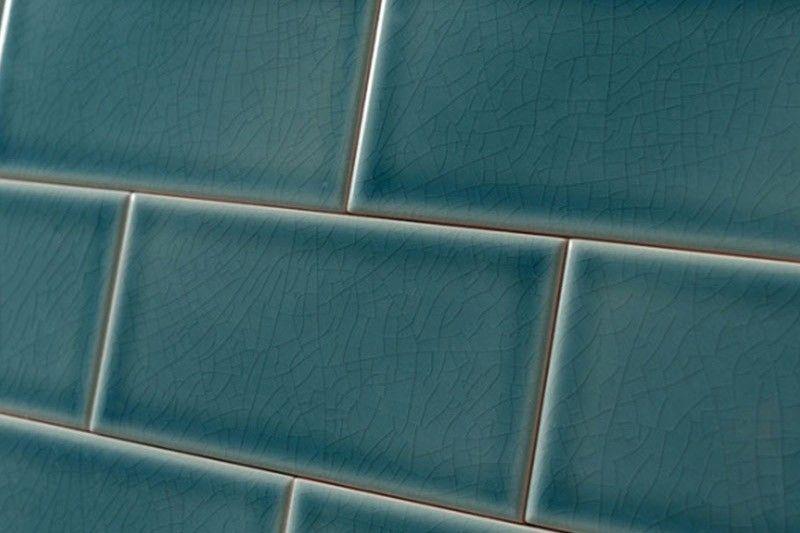 Crackle Glaze Greenwich Park Subway Wall Tiles 7 5x15cm Brick Effect Tiles Tiles Uk Wall Tiles