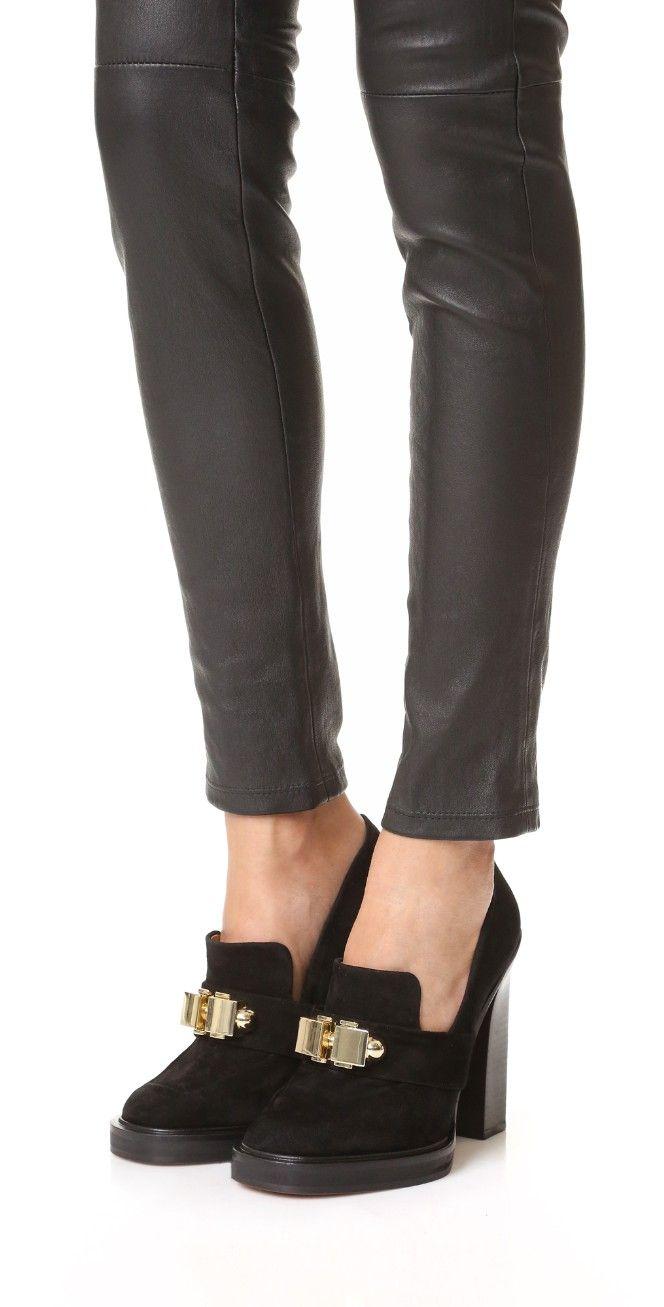Carven Leather Heels | SHOPBOP