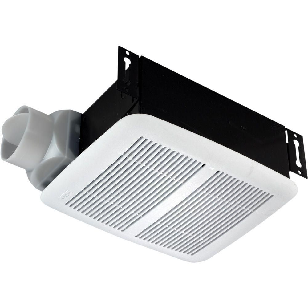 Nutone 80 Cfm Ceiling Exhaust Fan 8832wh The Home Depot Ceiling Exhaust Fan Exhaust Fan Broan