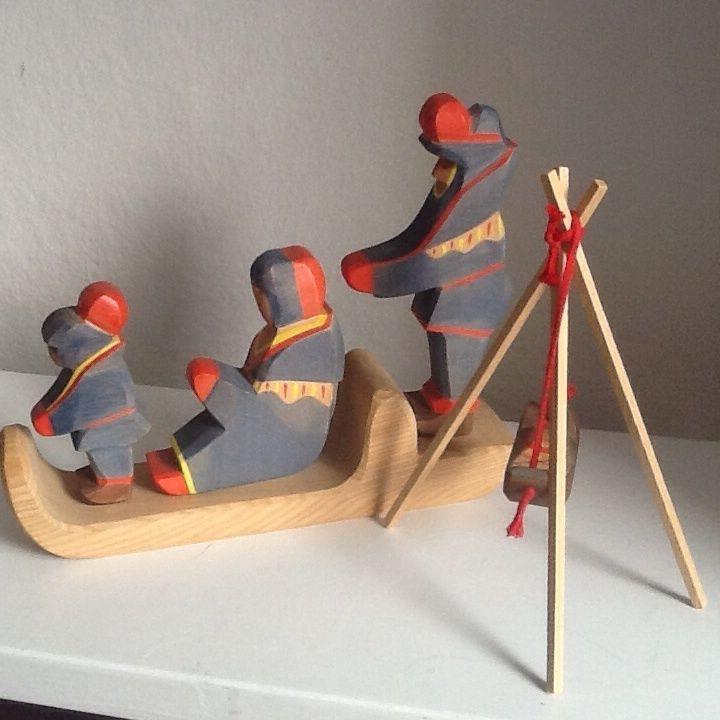 Ostheimer Lappen Set Wie Neu Lapplander Vintage Toys