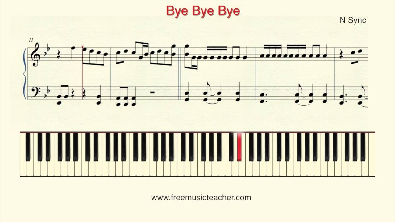 How to play piano n sync bye bye bye piano tutorial by ramin how to play piano burt bacharach the look of love piano tutorial by ramin yousefi baditri Gallery