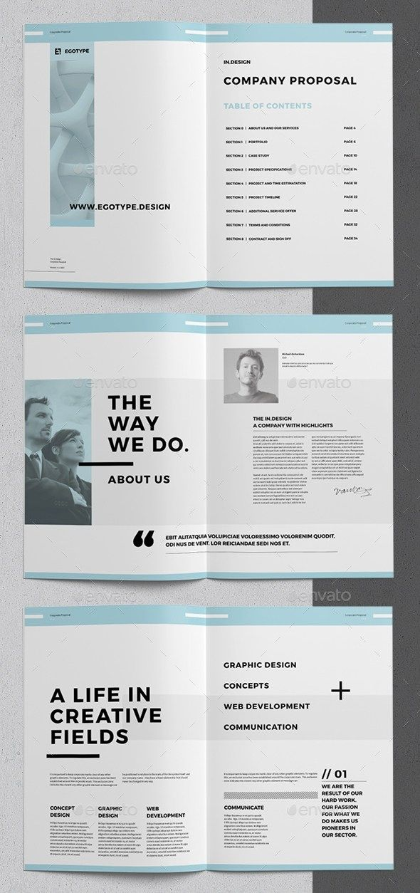 36 pages minimal corporate business proposal template indesign 36 pages minimal corporate business proposal template indesign proposal brochure template indesign flashek Gallery