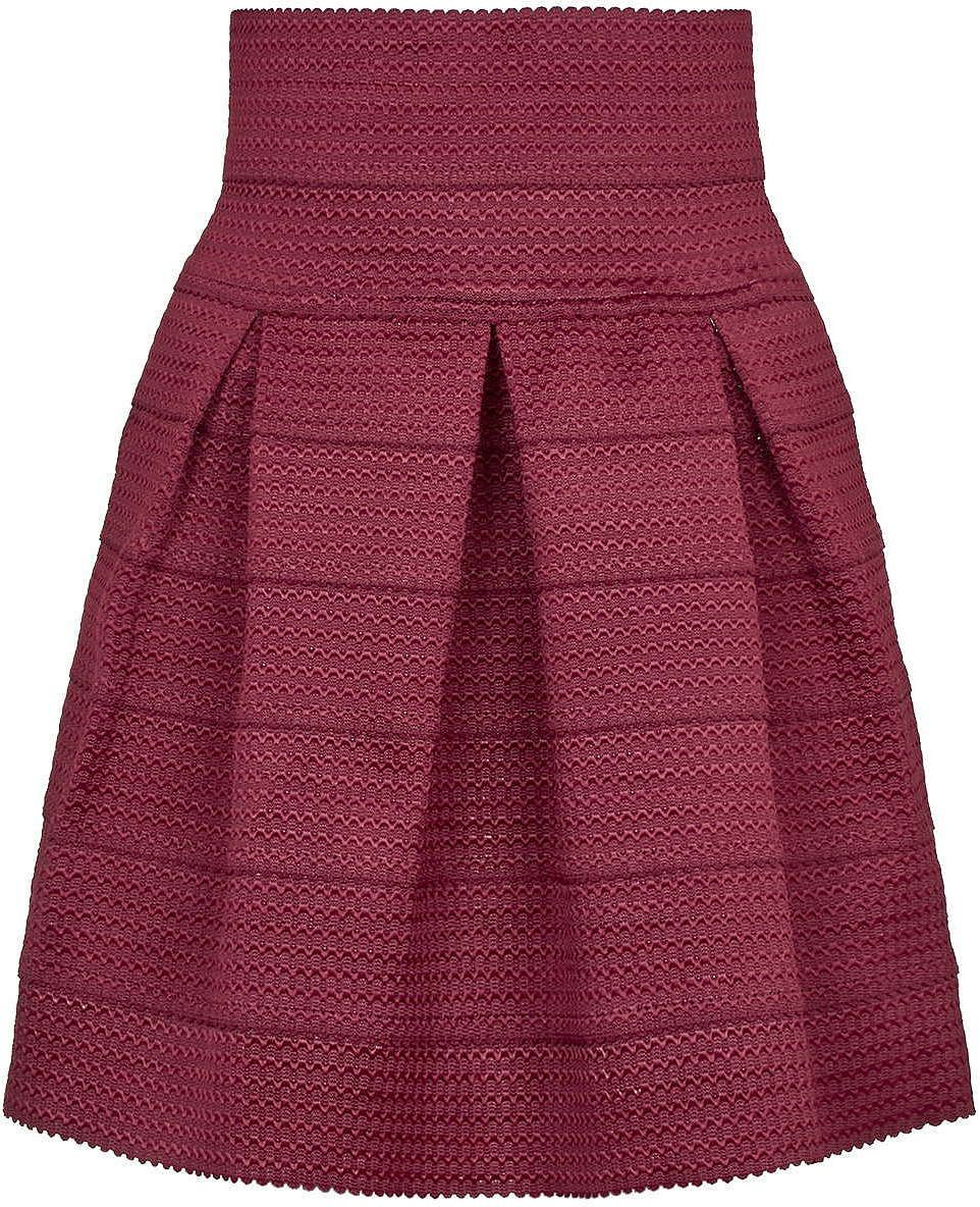 Pink dress topshop  Womens musk pink skater skirt from Topshop   at ClothingByColour