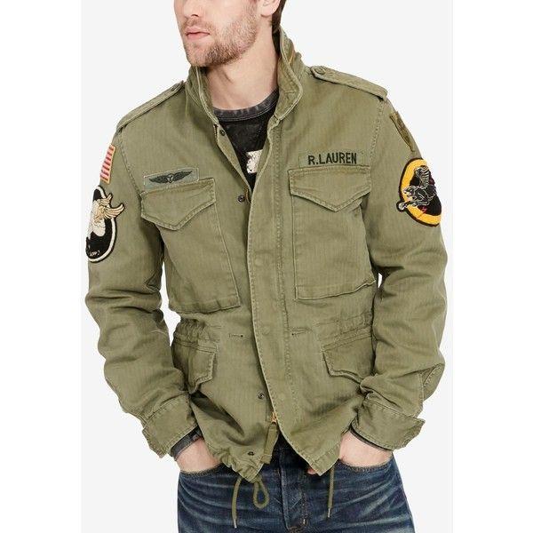 Denim Amp Supply Ralph Lauren Men S Patches Field Jacket