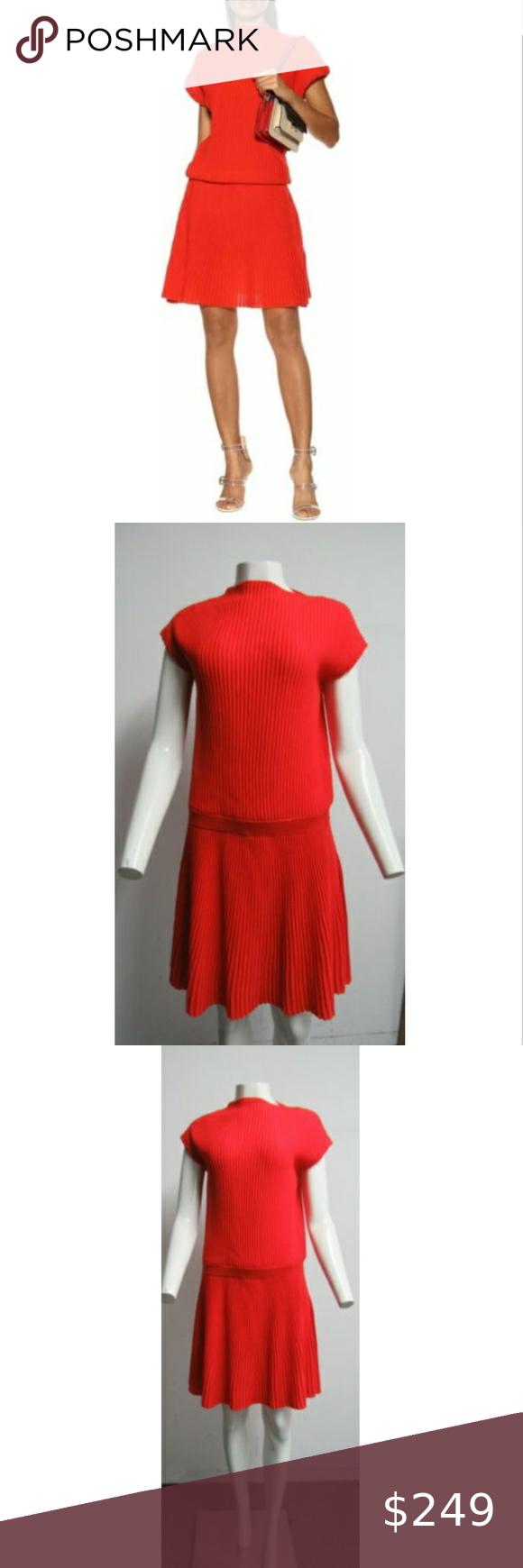 Victoria Victoria Beckham Red Knit Dress Sz 6 Victoria Victoria Beckham Red Ribbed Knit Dress Size 6 Featuring A S Red Knit Dress Knit Dress Ribbed Knit Dress [ 1740 x 580 Pixel ]