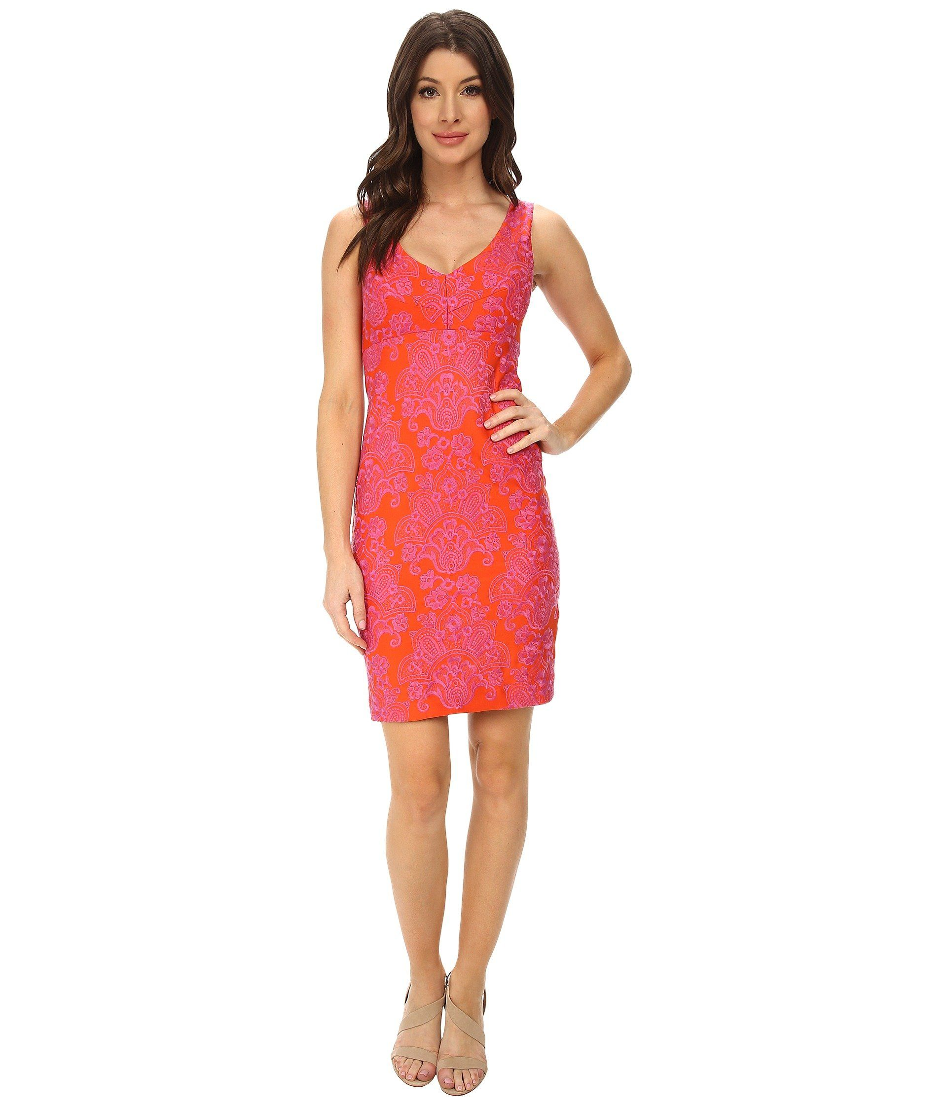 Yqalk Orange Nicole confiteriaslacruz Vneck Dress Sunken qCwUqtH