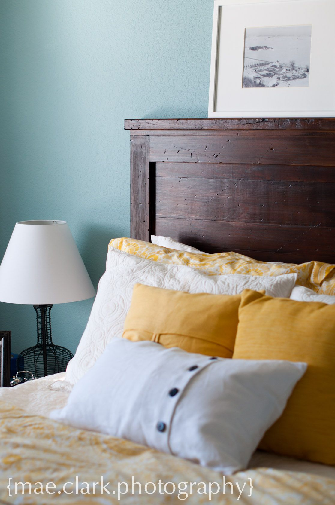 Reclaimed Wood Headboard | Do It Yourself Home Projects From Ana White |  Master Bedroom | Pinterest