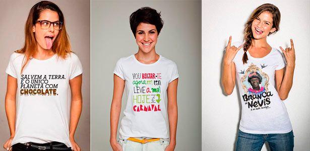 DOCE, MAIS QUE MEL: A nova moda são as camisetas engraçadas