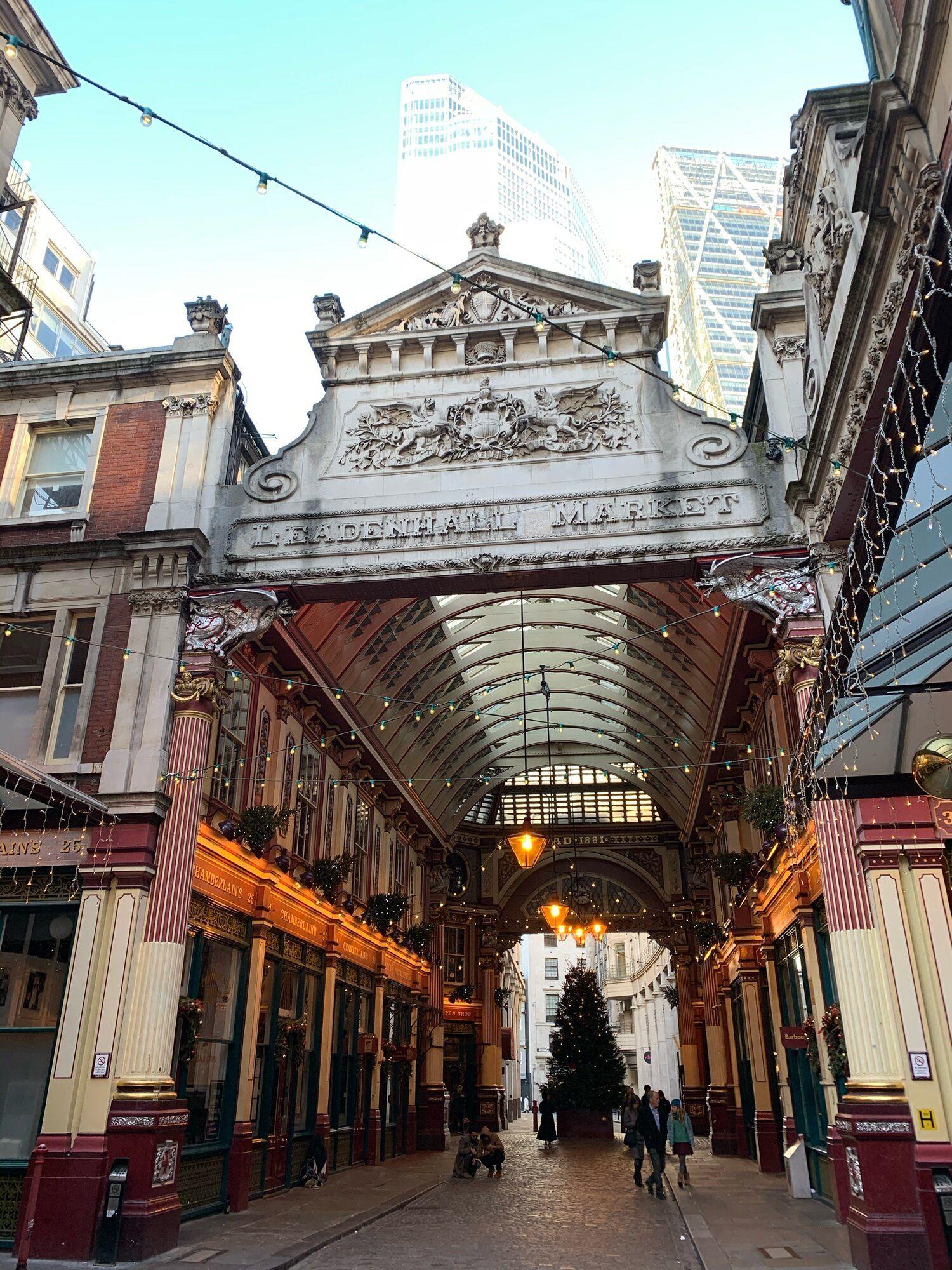 Leadenhall Market London in 2020 Leadenhall market