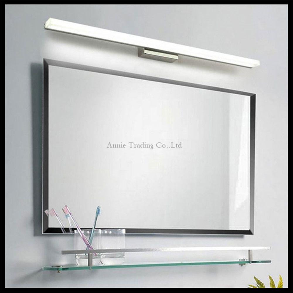 Lcm lcm lcm lcm lcm led mirror light stainless steel base
