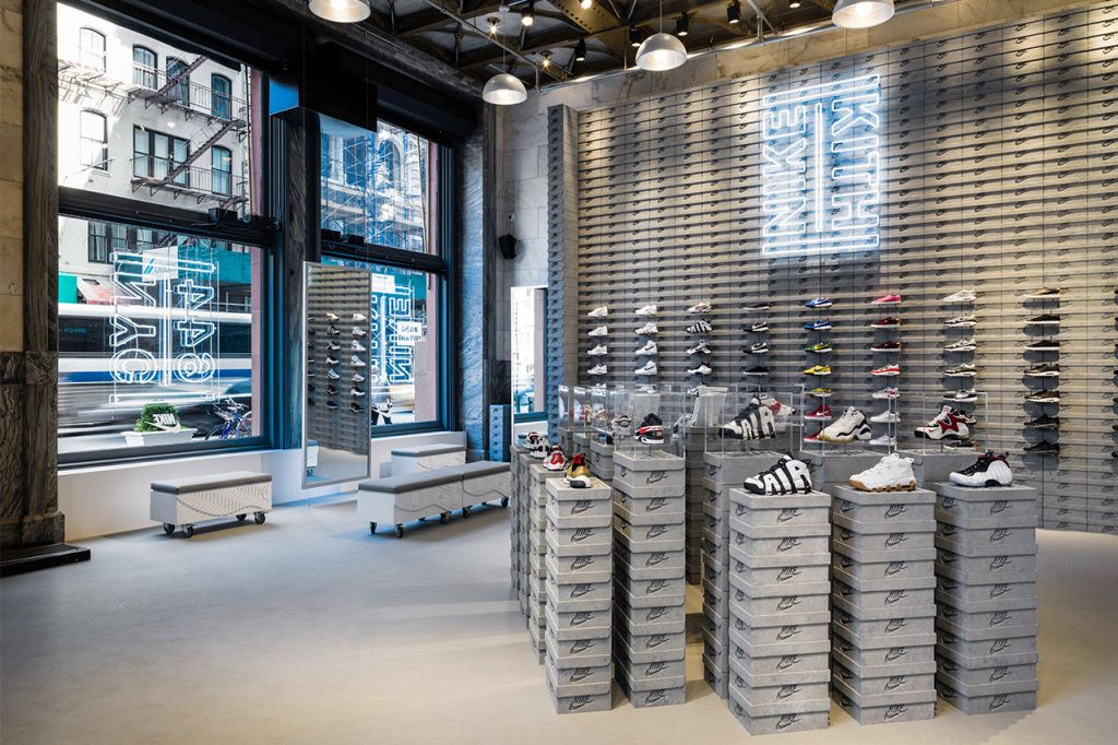 A closer look at the kith and nike pop up store in new york store - Kitchen design stores nyc ...