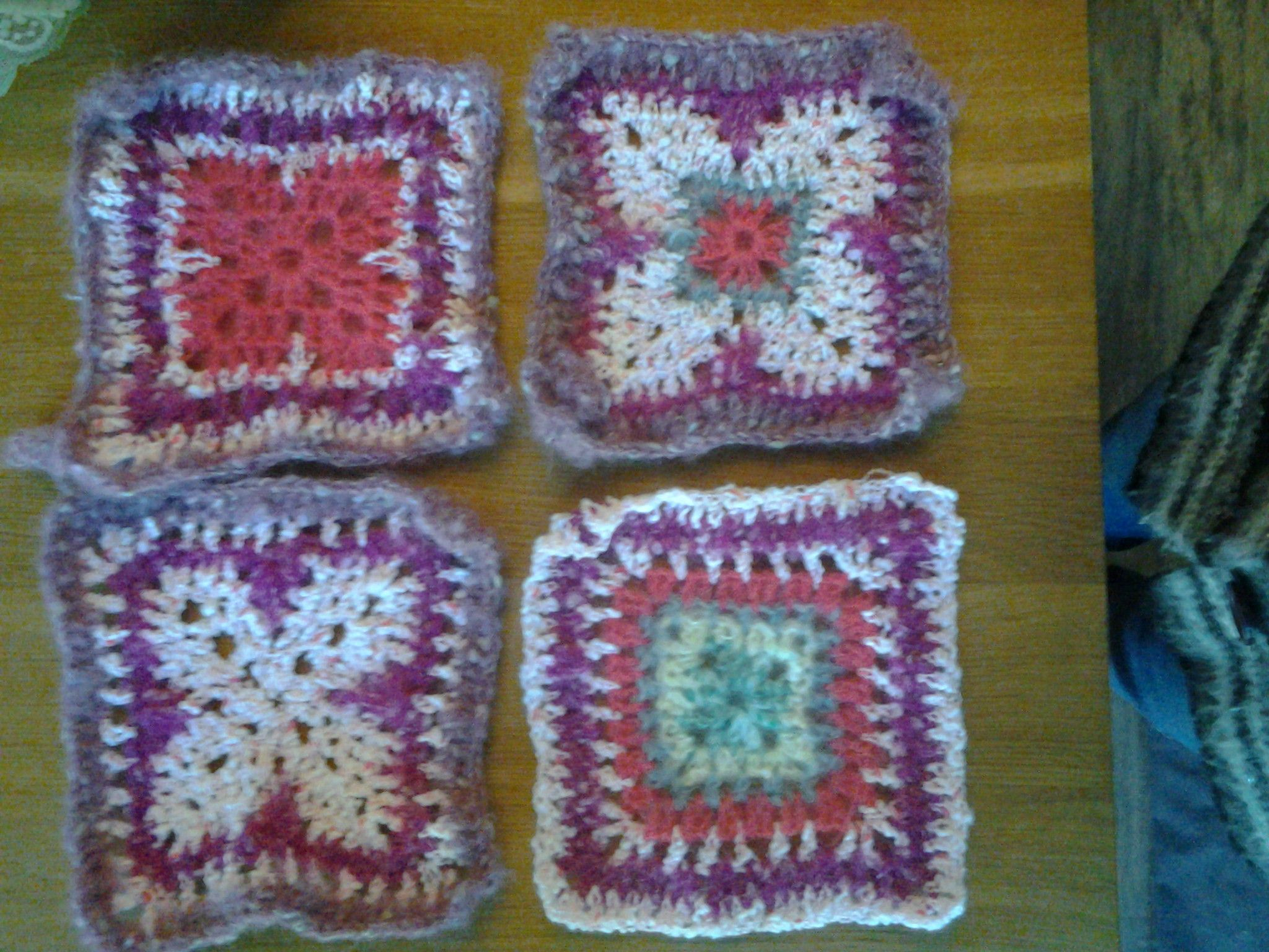 8 Inch Crochet Squares To Go To Kas Knit A Square A Charity In