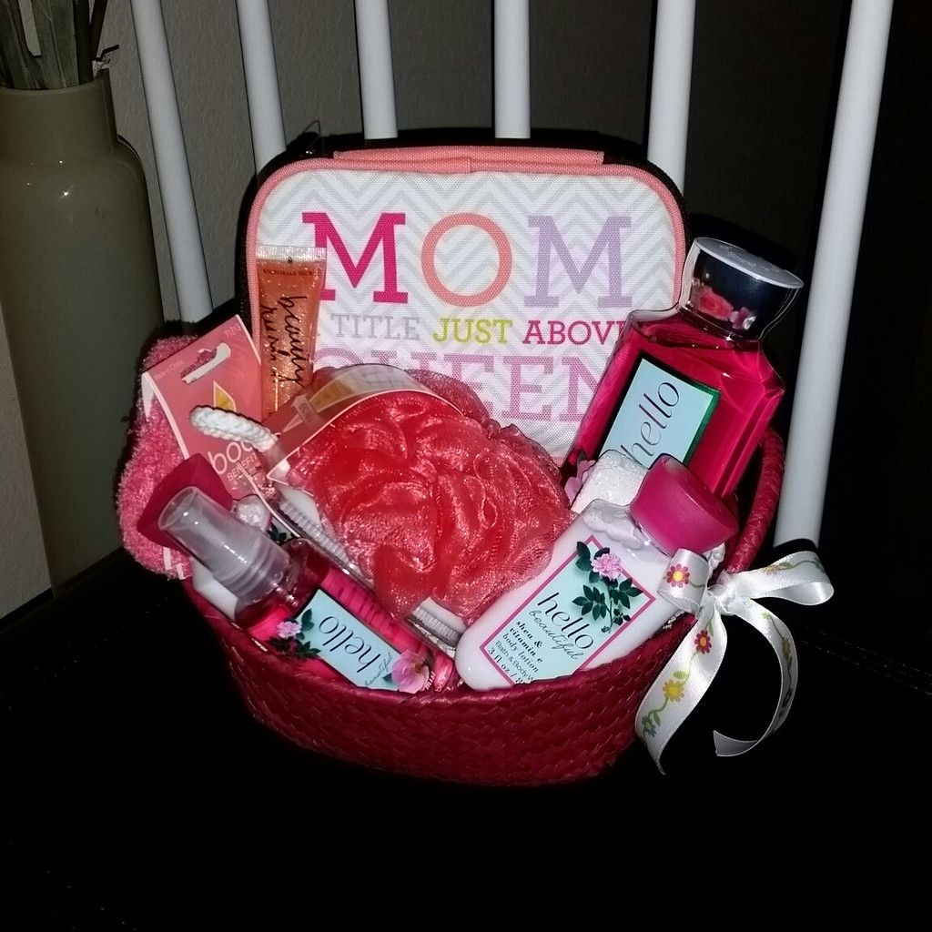 MOTHER'S DAY Hello Beautiful Bath & Body Works Spa Gift Basket for ...